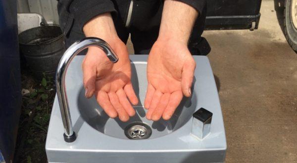 Super Stalette Mobile Handwash