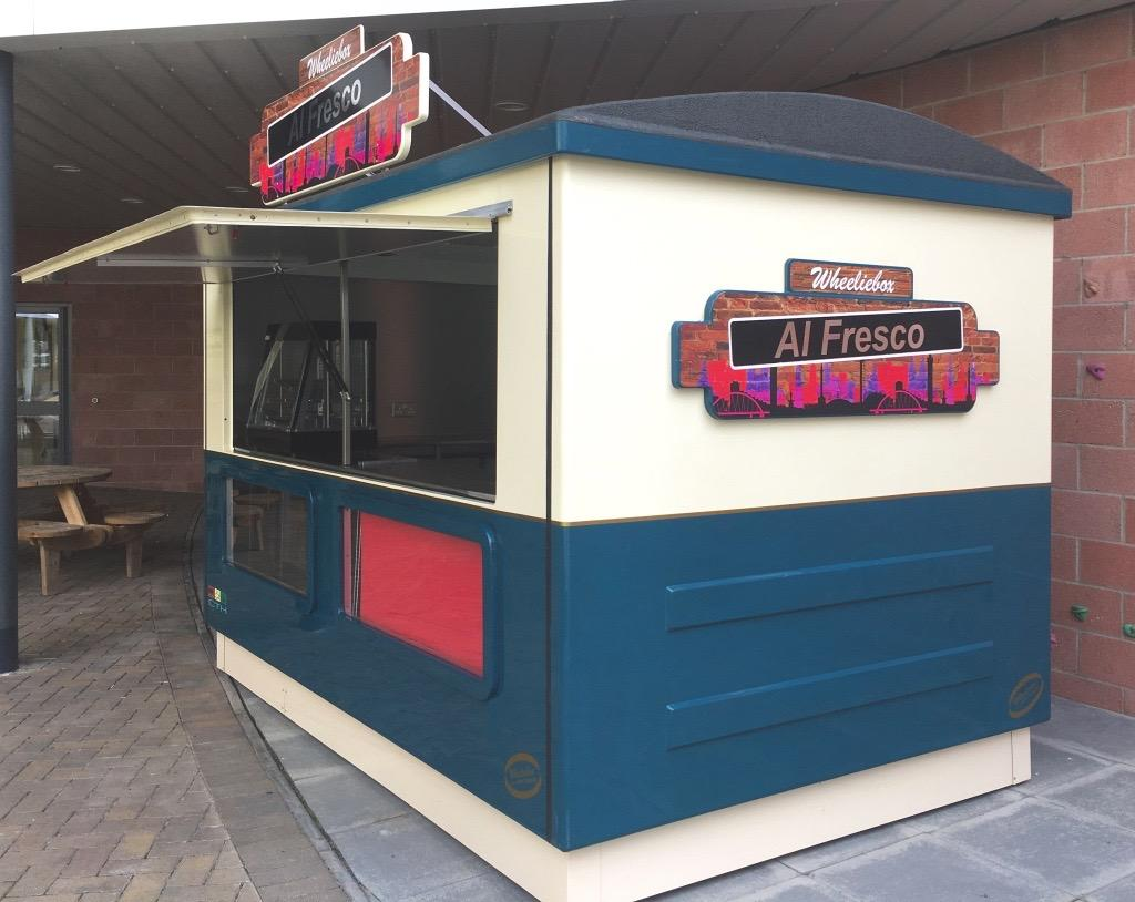 The Carriage Demountable Catering Kiosk